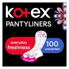 KOTEX PANTYLINERS DESIGNER UNSCNTD100EA