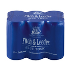 Fitch & Leedes Blue Tonic Can 200ml x 6