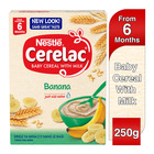 Nestle Cerelac Infant Cereal Banana 250g