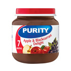 Purity 2nd Foods Apple & Blackcurrant Delight 125ml