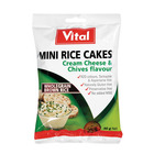 Vital Mini Rice Cream Cheese & Chives 30g