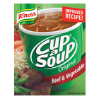 Knorr Cup-A-Soup Beef & Vegetable 4s