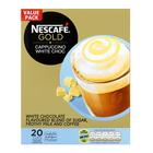 Nescafe Gold White Choc Cappuccino Sachets 20s