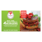 Fry's Traditional-Style Vegetarian Burger 320g
