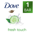 Dove Fresh Touch Soap 100g