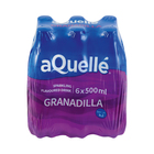 Aquelle Granadilla Sparkling Flavoured Drink 500ml x 6