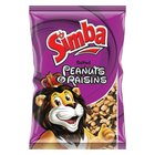 Simba Peanuts And Raisins 450g x 12