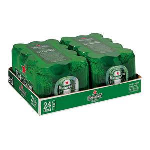 Heineken Lager Can 440ml 12 x 2