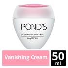 Ponds Lasting Oil Control Vanishing Cream Very Oily 50ml