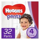 Huggies Unisex Pants Size 4 32s