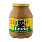 Black Cat Crunchy Peanut Butter No Sugar & Salt 800g
