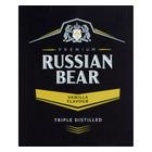 Russian Bear Vodka Vanilla/Coffee Bean 750ml x 6