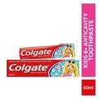 Colgate Barbie Mild Flavour Fluoride Anticavity Toothpaste For Kids 50ml