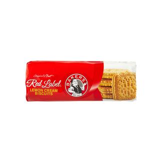 Bakers Lemon Cream Red Label Biscuits 200 GR