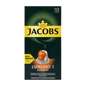 Jacobs Espresso Classico Intensity 7 Coffee Capsules 10s
