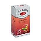 Five Roses Chai Spice Flavour Tea 20s