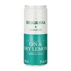 BELGRAVIA GIN&DRY LEMON S/COOL 440ML