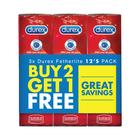 Durex Fetherlite Condoms 12's - Buy 2 Get 1 Free
