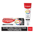 Colgate Total 12 Deep Clean Charcoal, Whitening Toothpaste 75ml