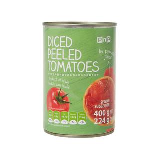 PnP Chopped Peeled Tomatoes 400g