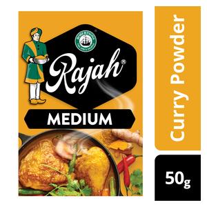 Rajah Medium Curry Powder 50g