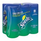 Sprite Soft Drink 300ml Can x 6