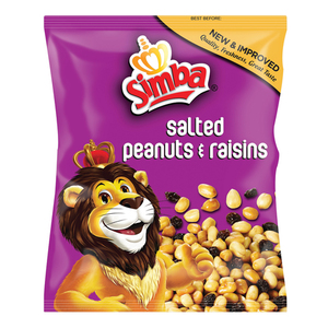 Simba Peanuts & Raisins 450g