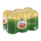 Amstel Lager Cans 330ml x 6
