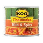 Koo Mild And Spicy Chakalaka 215g