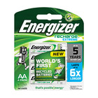 Energizer Recharge Extreme AA Batteries 4s