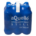 Aquelle Still Natural Spring Water 500ml x 6