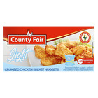County Fair Light Chicken Breast Nuggets 400g