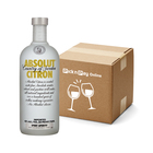 Absolut Citron Vodka 750 ml x 12