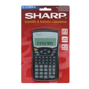 Sharp EL531WHB Scientific Calculator