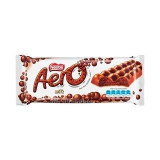 Nestle Aero Milk Chocolate 85g