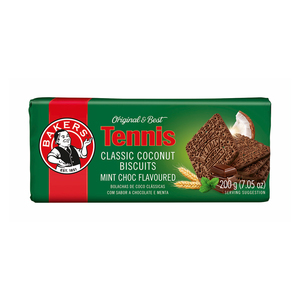 Bakers Tennis Biscuits Choc Mint 200g
