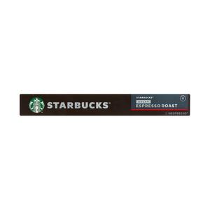 Starbucks® Decaf Espresso Roast by Nespresso® Dark Roast Coffee 10 Capsules