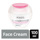 Ponds Lasting Oil Control Vanishing Cream For Oily To Normal Skin 100ml