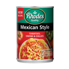 Rhodes Mexican Style Tomatoes 410g