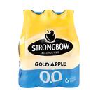 Strongbow Gold Apple 0.0 Non Alcoholic 330ml x 6