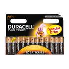 Duracell Alkaline Batteries Plus Power AA 12s