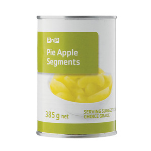 PnP Pie Apple Segments 385g