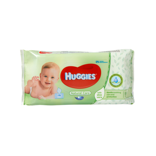 Huggies Baby Wipes Natural Care 56s