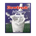 Dewfresh UHT Full Cream Milk  1l x 6