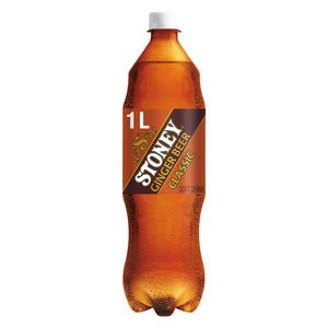 Stoney Ginger Beer Plastic Bottle 1l