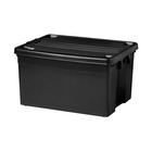 Big Jim Roller Box Black 80 Litre