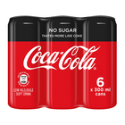 Coca-Cola Zero Can 300ml x 6