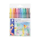 Staedtler Wax Twist Crayons 12s