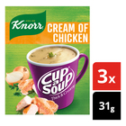 Knorr Cup a Soup Cream of Chicken 3s