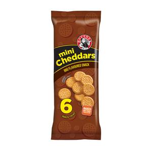BAKERS MINI CHEDDAR BBQ M/P 198GR